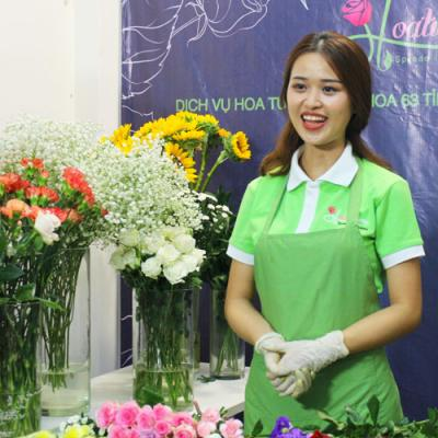 Khóa học cắm hoa theo yêu cầu
